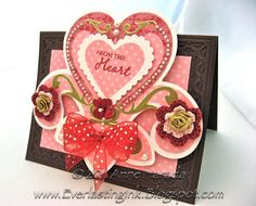 cards made with cricut florals embellished | Hurry over to the Woodware USA Blog and submit your Challenge Card ...