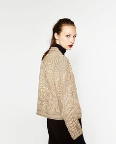 SHORT SHINY QUILTED JACKET-View all-OUTERWEAR-WOMAN | ZARA Turkey