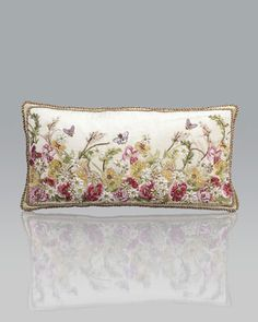 Long+Poppies+Pillow+by+Jay+Strongwater+at+Neiman+Marcus.