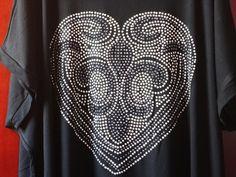 Blusa Plus Size Coração