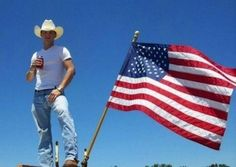 Cowboys and Old Glory....DAYUMMMMM