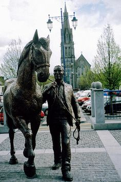 Ballinasloe, County Galway - horse country, and Jeeves' true home