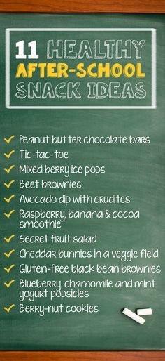 These healthy and easy snack ideas for kids are perfect for after-school or even. - after school snacks - Healty Snacks Beet Brownies, Healthy Protein Snacks, High Protein, Healthy Food, Healthy Eating, Black Bean Brownies, Yogurt Popsicles, Healthy Afternoon Snacks, Raspberry Smoothie