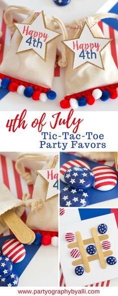 4th of July Party Fa