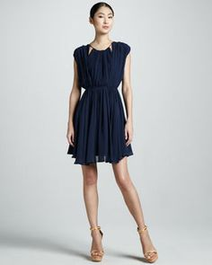 shopstyle.com: KAS New York Nina Pleated Dress