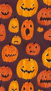 Pumpkins. Halloween GhostsHappy HalloweenPumpkin DesignsIphone 6Apple  IphoneIphone CasesSkull PumpkinCoverWallpaper