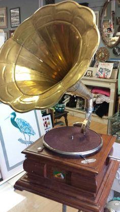 Vintage RCA replica gramaphone
