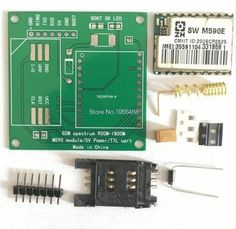 GSM GPRS SIM900 1800MHz Short Message Service m590 SMS Module DIY Kit For Arduino
