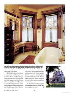Adelaide Frick's 1882 bathroom in Pittsburgh.