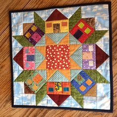 Color, Creating and Quilting!: Three Quilts in the Works & Happy Mail House Quilt Patterns, House Quilt Block, Star Quilt Blocks, Star Quilts, Scrappy Quilts, Quilt Block Patterns, Mini Quilts, Patchwork Quilting, Quilting Projects