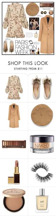 """""""Pack and Go: Pfw"""" by ludocottoncandyprincess02 ❤ liked on Polyvore featuring Zimmermann, Gucci, Joseph, Urban Decay, Tom Ford, Too Faced Cosmetics and Chanel"""