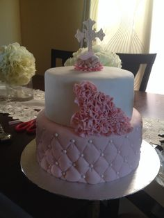 Another pink cake