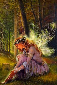 'Beautiful Forest Fairy