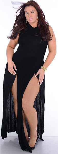 Sexy plus size clothes curves