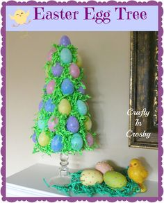 Instead of glitter on the eggs (which is of the devil), use washi tape!