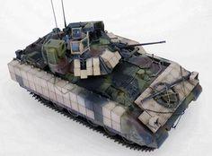 TRACK-LINK / Gallery / M3A3 BUSK III Bradley IFV
