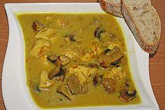 Hähnchen - Curry - Suppe (Rezept mit Bild) von markus-esser | Chefkoch.de
