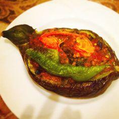 カルヌ・ヤルック茄子の挽肉詰め(トルコ)
