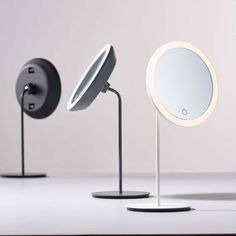 Buy Zone Denmark Table Mirror with Magnifying Light Now at Dotmaison. Quality designer homewares & Free UK delivery over Viborg, Desk Lamp, Table Lamp, Table Mirror, Mirror Words, Bathroom Accessories Luxury, Standing Mirror, Magnifying Mirror, Home Decor Mirrors