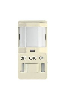 Intermatic IOS-DSIMF-IV Decorator PIR Occupancy Sensor with Slide On/Off Button by Intermatic. $19.22. Intermatic's energy saving occupancy sensor monitors virtually any area within a home, small business or commercial building. This model incorporates passive infrared (PIR) technology to detect human presence in a room. It will monitor a specific area to detect heat generated naturally by people. When the heat is detected the lighting will automatically turn ON, then OFF again ...