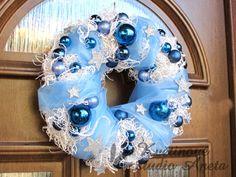 Hanukkah, Wreaths, Home Decor, Christmas, Decoration Home, Door Wreaths, Room Decor, Deco Mesh Wreaths, Home Interior Design