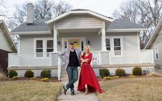 From Masters of Flip: Missed an episode? Check out the recap for 'Nowhere But Up. Exterior House Colors, Exterior Paint, Kortney Wilson, Masters Of Flip, Outdoor Paint, Outdoor Decor, Next At Home, House Rooms, Decoration