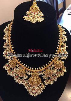 Guttapusalu Necklace with Suitable Tikka