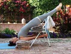 maggie's pages: Restoritive Yoga is sooo good of me