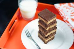 Peanut Butter Nanaimo Bars, the original Nanaimo Bars were not peanut butter filled, but for Kara and me it was the peanut butter filling that made these bars look AND taste irresistible.