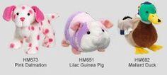 3 New Webkinz May 2012 Releases Lilac Guinea Pig & Pink Dalmation & Mallard Duck + Webkinz Gift Bag. #Webkinz #Releases #Lilac #Guinea #Pink #Dalmation #Mallard #Duck #Gift