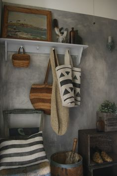 Rustic Chic Mud Room. Submitted by: Yra L. http://earnyourstripescontest.com/