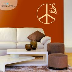 67 Best Peace Sign Home Decor Images In 2019 Peace