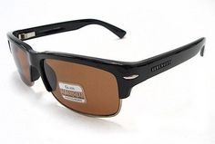 f40233df1758 Serengeti Vasio 7374 Sunglasses Shiny Black Polarized Shades Serengeti.  $159.95
