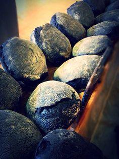 Pane al carbone vegetale...