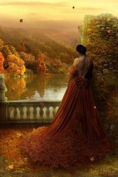 Iardacil, Instant de Pais (deviantart.com) #AutumnLady