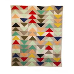 June's Flying Geese Quilt // Red Creek Handmade