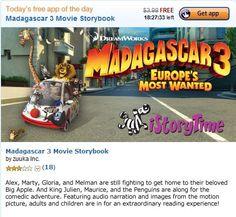Madagascar 3 Movie Storybook (Free Amazon Android App) 6/8/2012