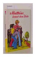 Matthias kennt den Dieb, Käning, Günter