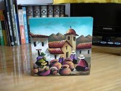 Peruvian Art, Mexico Art, Spanish Art, Mary J, Ap Art, Arte Pop, Bolivia, Quilling, Decoupage