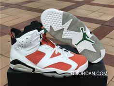 84c690214a3c98 Air Jordan 6 Gatorade Summit White Black Team Orange Basketball Shoes New  Year Deals