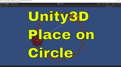Place object along Line Render Circle - Unity [ENG]