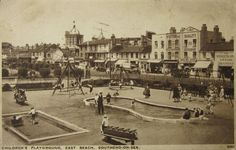 (About where the Sealife Centre is now) Leigh On Sea, London Places, Old Photos, Childhood Memories, Playground, Paris Skyline, Centre, Past, Nostalgia