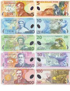 New Zealand Dollar Nzd Currency Images - Convert 100 Usd To New Zealand Dollar 10 Dollar Bill, Free Printable Bingo Cards, Money Template, New Zealand Dollar, Passport Card, Money Worksheets, Money Notes, Kiwiana, Cold Hard Cash