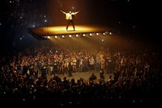 """INDIANAPOLIS 8/25/2016 Kanye West performed in the opening concert of his """"Saint Pablo"""" tour. AJ Mast for The New York Times"""