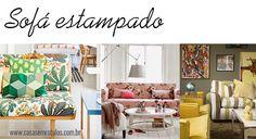 Casa Sem Rótulos, como usar estampas na decoração, estampas, combinar estampas, sofás estampados, sofás, decoração, móveis estampados