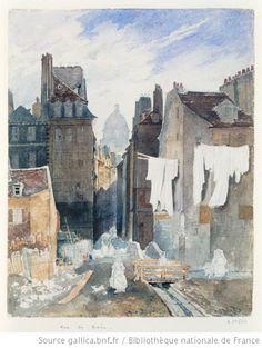 Rue de Bièvre  non identifié, c. 1800