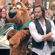 Jared and Scooby, Paley Festival 2018