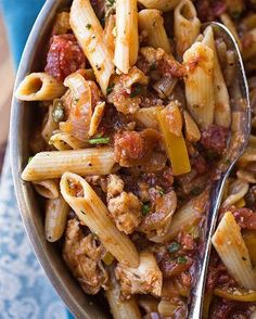 "Lemony Chicken ""Picca-Tore"" Pasta with Tomatoes, Yellow Bell Peppers, Onions, Garlic and Capers with Wine and Fresh Herbs"