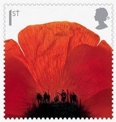 bleistift-und-radiergummi: Hat Trick Design 'Lest We Forget' Uk Stamps, Love Stamps, Royal Mail Postage, Postage Stamp Art, Anzac Day, Lest We Forget, Remembrance Day, Lost Art, Mail Art