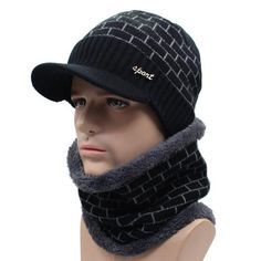 351524d0469 AETRUE Winter Hat Skullies Beanies Men Women Knitted Hat Scarf Winter Caps  Mask Balaclava Bonnet Cap Wool Fur Beanies Hats 2018